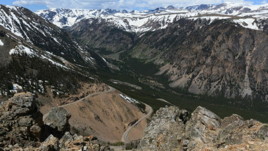 Beartooth Pass Is A 68 Mile Scenic Byway In Yellowstone National Park That Shows Off Stunning Mountain Vistas And Wild Open Spaces